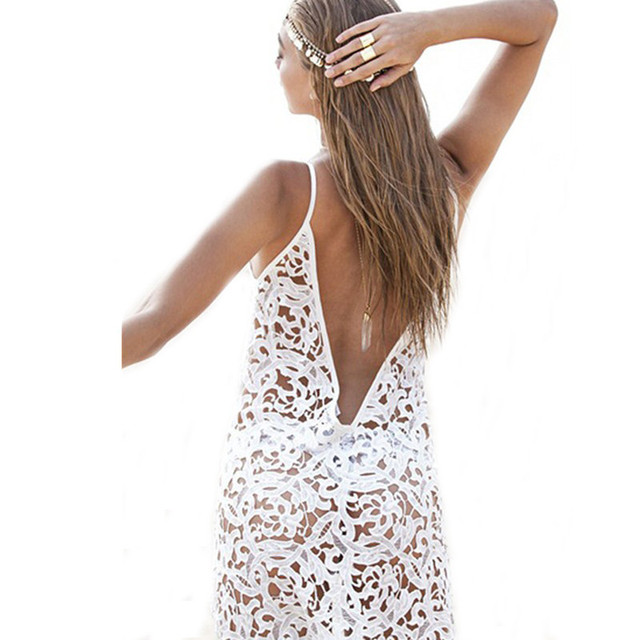 2017 Summer Beachwear Dress –  Crochet Bikini Swimwear Cover Up