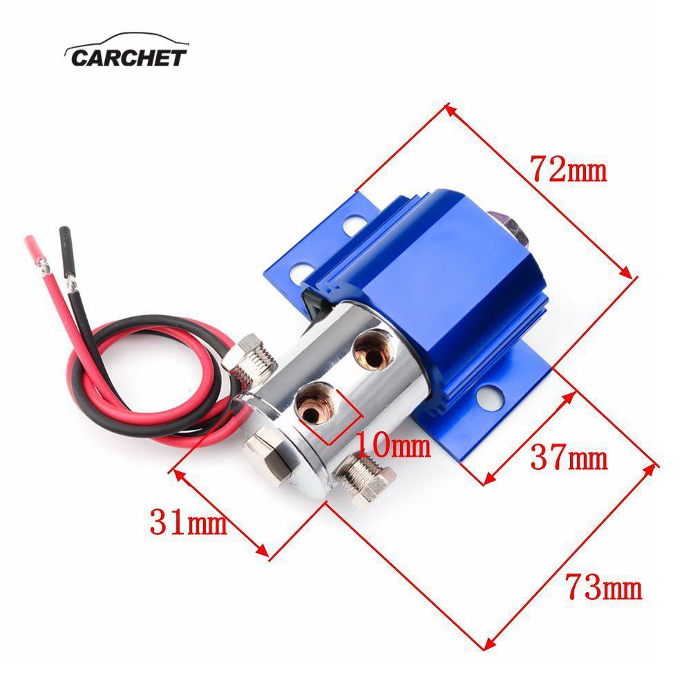 CARCHET 12-16 V Kit de verrouillage de ligne de frein Valve de contrôle de frein support de montagne support de verrouillage de ligne de frein hydraulique support de pression