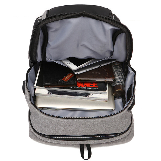 MAGIC UNION Travel Laptop Backpack Anti Theft Laptop Backpack USB Charging Port Water Resistant College School Bag for Men Women 3