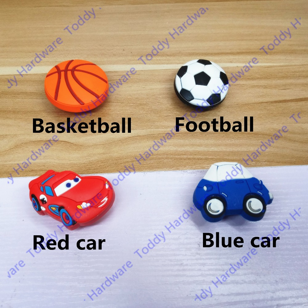 Lovely Soft Rubber Cartoon Kids Room Decors Drawer Handles Cabinet ...