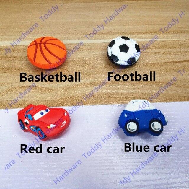 Red auto Form/fußball fußball/Basketball griff Schrank Türgriffe ...