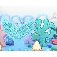 Under The Sea Party Dekorace Mořská panna Tabulka Centerpiece Děti Narozeninové Party Supplies Dekorace Party Favorit Centerpieces