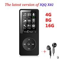 Mini MP4 Player 16GB With Built In Speaker Reproductor Mp4 16 Gb Hifi Speaker IQQ X02