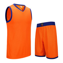 SANHENG Men's Basketball Jersey Competition Uniforms Suits Breathable Sports Clothes Sets Custom Basketball Jerseys Short 912109(China)