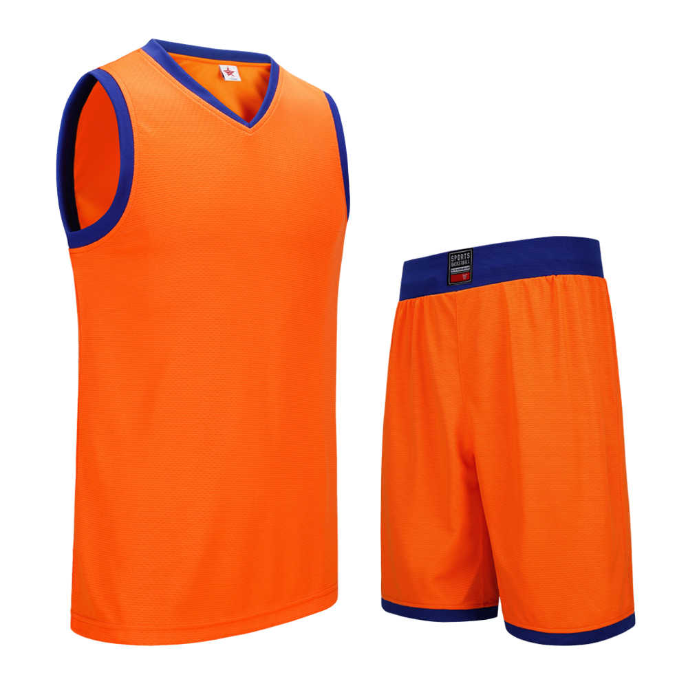SANHENG Men's Basketball Jersey Competition Uniforms Suits Breathable Sports Clothes Sets Custom Basketball Jerseys Short 912109