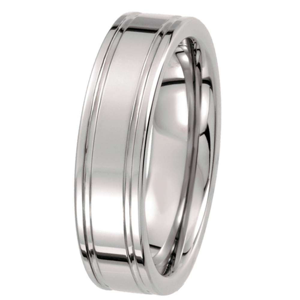 Male And Female Wedding Engagement Ring 6mm Tungsten Grooved Waterproof &  Scratch Proof Band Size 9