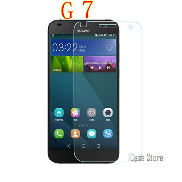 G7 pelicula de vidro Tempered Glass For Huawei Ascend G7 Screen Protector SKLO Film For Huawei G 7 L03 L01 G7-L03 G7-L01 G7-UL20
