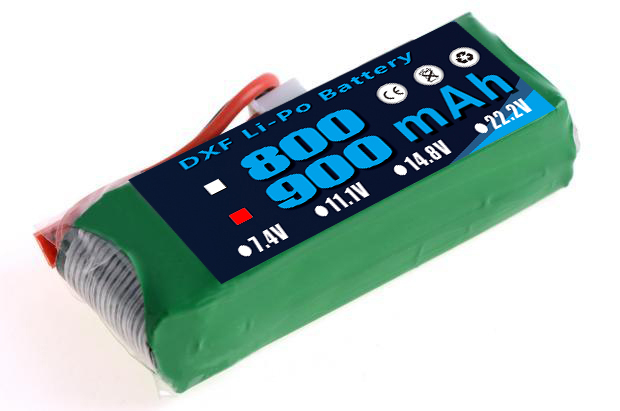2017 DXF 11.1V <font><b>900mAh</b></font> 20C <font><b>3S</b></font> Li-Po Battery EK1-0188 <font><b>Lipo</b></font> Battery for Esky Big Lama HM RC Car Airplane Helicopter image