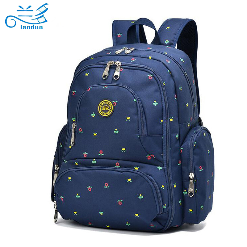 2016 new large capacity multifunctional mummy backpack nappy bag baby diaper bags mommy. Black Bedroom Furniture Sets. Home Design Ideas