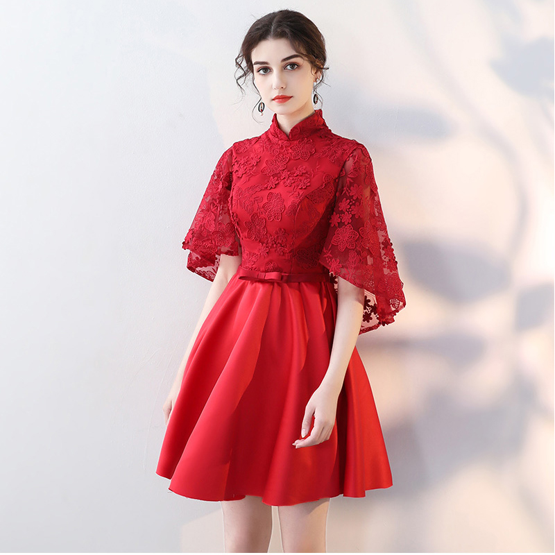 Weddings & Events Helpful New Lace Celebrity Dresses 2018 With Jacket Cheap Red Carpet Dresses Mini Appliques Plus Size Vestido De Festa Rode Loper
