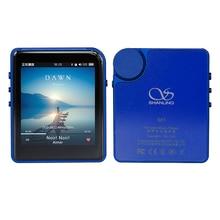 MP3 Player Shanling M1 DAP DSD64 DSD128 Lossless Music DAP HIFI Players DAC AK4452 With Bluetooth Features Mini Movement Blue