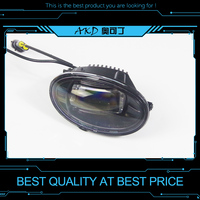 Car Styling LED Fog Lamp for Honda Civic Fog Light with Lens High Power Cob LED DRL Automobile Daytime Light Accessories