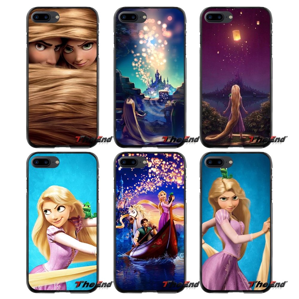Rapunzel Tangled Accessories Phone Cases Covers For Apple iPhone 4 4S 5 5S 5C SE 6 6S 7 8 Plus X iPod Touch 4 5 6