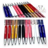 Colourful penna set regalo di nozze per gli ospiti 2000 qualità penna a sfera con 2000 pz colorful sacchetti della penna 25 colori di stampa con il testo SPEDIZIONE