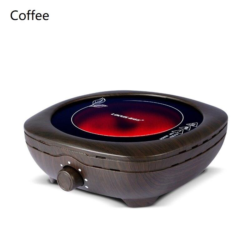 AC220 240V 50 60 hz mini cuisinière en céramique électrique bouillante thé chauffage café 800 w cuisinière à café