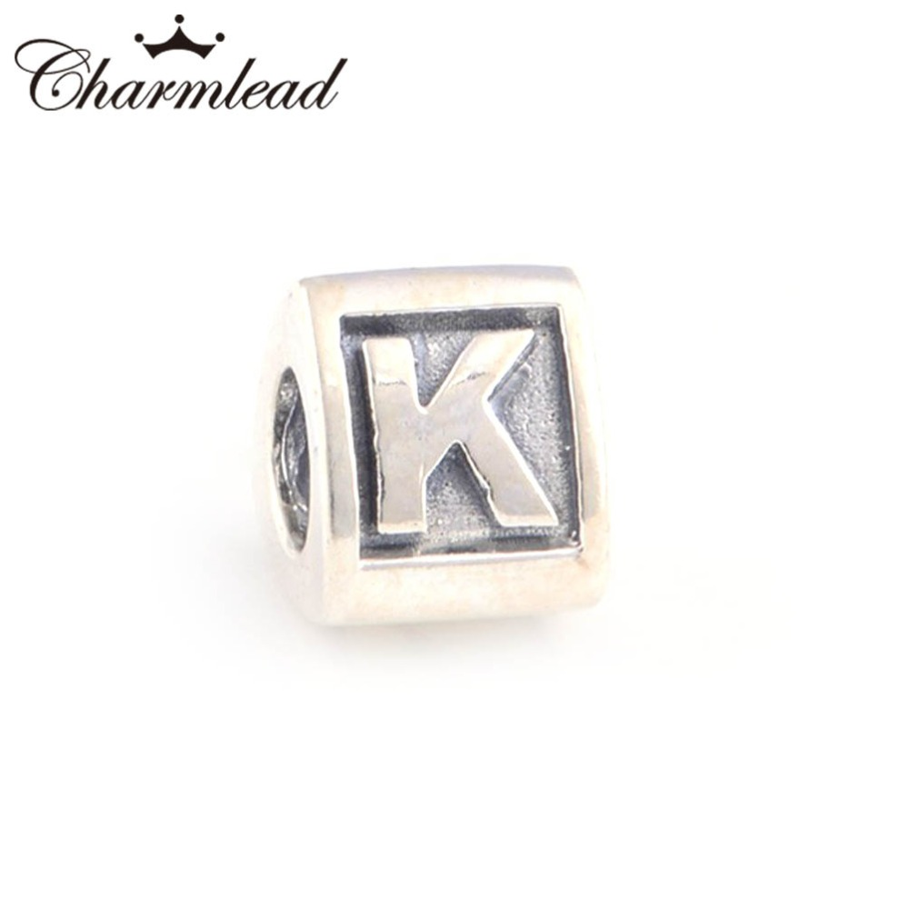 charms pandora lettre k