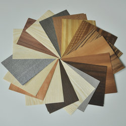 Libro de muestras de chapa de madera Natural de ingeniería de 200 especies