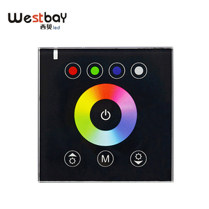 Westbay RGBW LED Switch Touch Panel Controller For LED Neon Flex Strip Lighting DC12-24V DIY Light Switch Touch Switch
