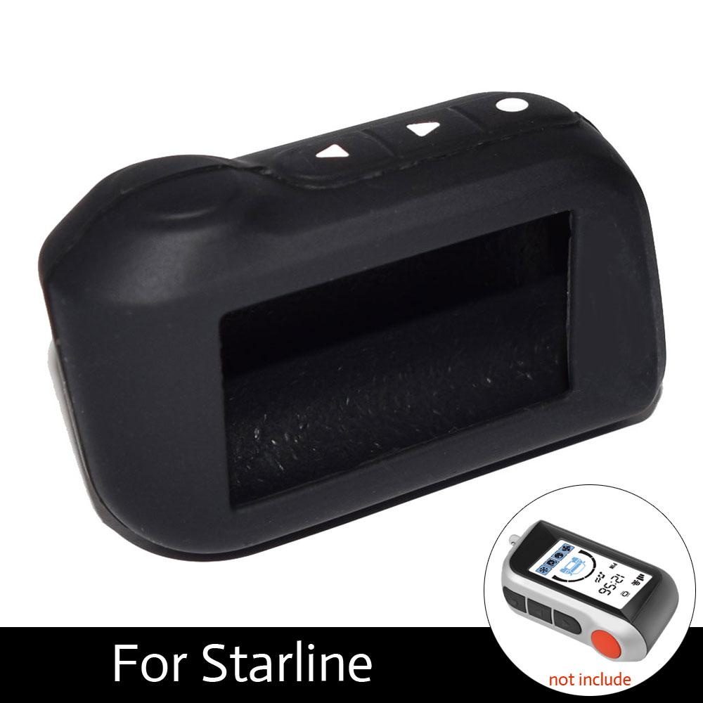 ATOBABI A39 Remote Control Silicone Cover Case For StarLine A39 A96 A93 A36 A63 2-Way Car