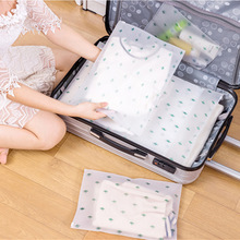 Plant Cactus Transparent Cosmetic Bag Travel Makeup Case Women Zipper Make Up Organizer Storage Bag Pouch Toiletry Wash Bath Kit hanging travel cosmetic bag women zipper make up bag polyester high capacity makeup case handbag organizer storage wash bath bag
