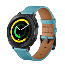 YILIZOMANA 20mm Smart Watch Leather Band For Samsung Gear S2 Classic/Frontier Galaxy Watch 42mm Huawei Fossil Q Pebble Watchband new arrival 20mm stainless steel watchband for pebble time round smart watch casual pebble men strap bracelet