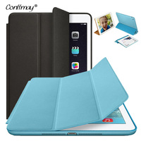 2015 New Top Smart Cover For Ipad Air Case Ultra Thin Flip Leather Stand Luxury Original