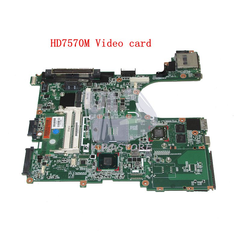 NOKOTION 686975-001 MAIN BOARD For HP Elitebook 6570B 8570P Laptop motherboard HM76 DDR3 HD7570M Video card for hp laptop motherboard 6570b 686975 001motherboard 100% tested 60 days warranty