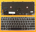 Русская клавиатура для ноутбука HP EliteBook 820 G1  новая Серебристая Рамка с черной подсветкой  Win8 RU  клавиатуры 9Z.N9WBV.40R