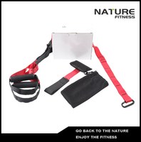 New Red Color Sport Resistance Bands Strength Training Fitness Equipment Spring Exerciser Suspension Hanging Training Strap