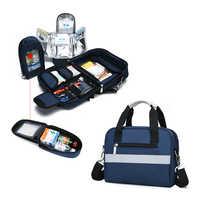 Saco de primeiros socorros kit de emergência médica isolamento refrigerado armazenamento viagem acampamento sobrevivência tático kits sacos vazios