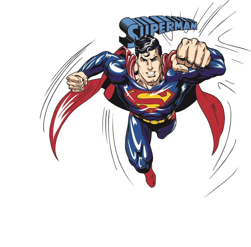 superman wall sticker superheroez