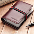 teemzone - Easy Take 22 Card Slots Leather Case Unisex Name Cards Holder Business Cards Case Credit Card Holder Organizer J50