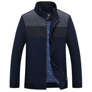 Image 2 - Mu Yuan Yang 2020 Autumn and Winter For Male Wool & Blends 50% Off Men s Wool Blend Coats Casual Mens Woolen Jackets Overcoat