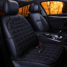 OUMANU 12 В подогрев подушки сиденья автомобиля Универсальный Отопление согреться сиденья чехлы подходят для большинства легковых автомобилей используется в зимние