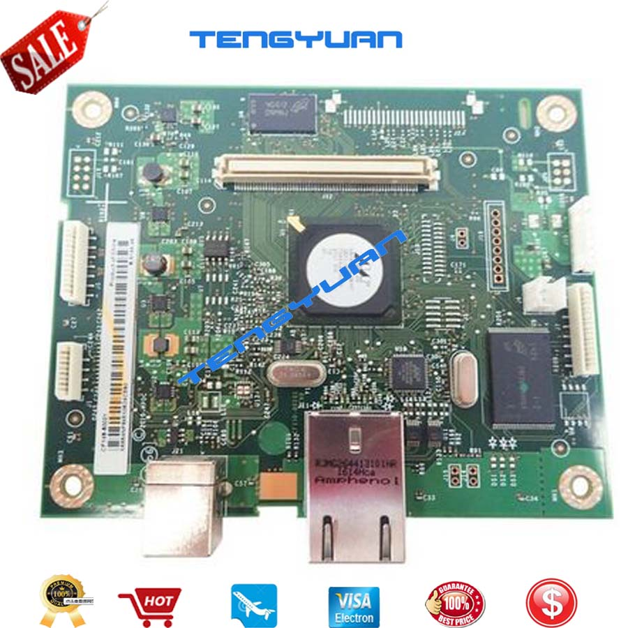 Free shipping Original Laserjet Pro400 m401n m401dn Formatter Board Logic Board Main Board CF149-60001 Printer parts on sale free shipping ce831 60001 laserjet pro m1132 1215 1212formatter board 125a pressure roller printer parts on sale