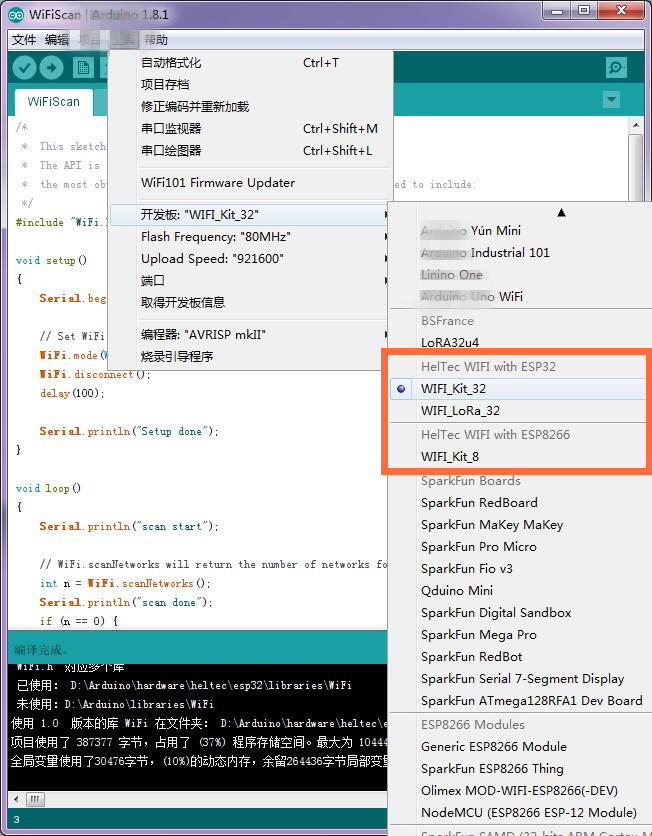 ESP32 Bluetooth WIFI Kit Blue OLED 0.96 inch Display Module CP2102 32M Flash 3.3V-7V Internet Development Board for Arduino 5