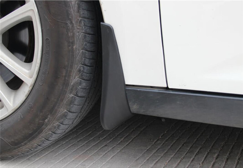 Mazda mudflaps Universal fitting mudflaps for Front Rear White