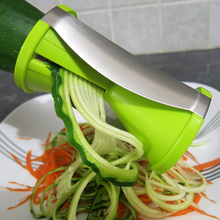 Vegetable Spiral Slicer Spiralizer Fruit Grater Cutter Carrot Cucumber Courgette Cooking Tool