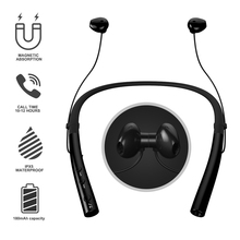 Bluetooth Headphones Built-in Mic Lightweight Wireless Neckband Headset Waterproof Sport Earphone Stereo Earbuds For Xiaomi цена и фото