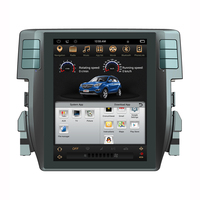 Asvegen HD Vertical Screen Android 6.0 Quad Core Car Auto Multimedia Player GPS Navigation DVD Radio For Honda Civic 2016