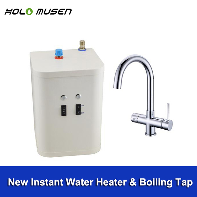 Electric Hot Water Tap Water Heater Boiler 98C Boiling Water Tap ...