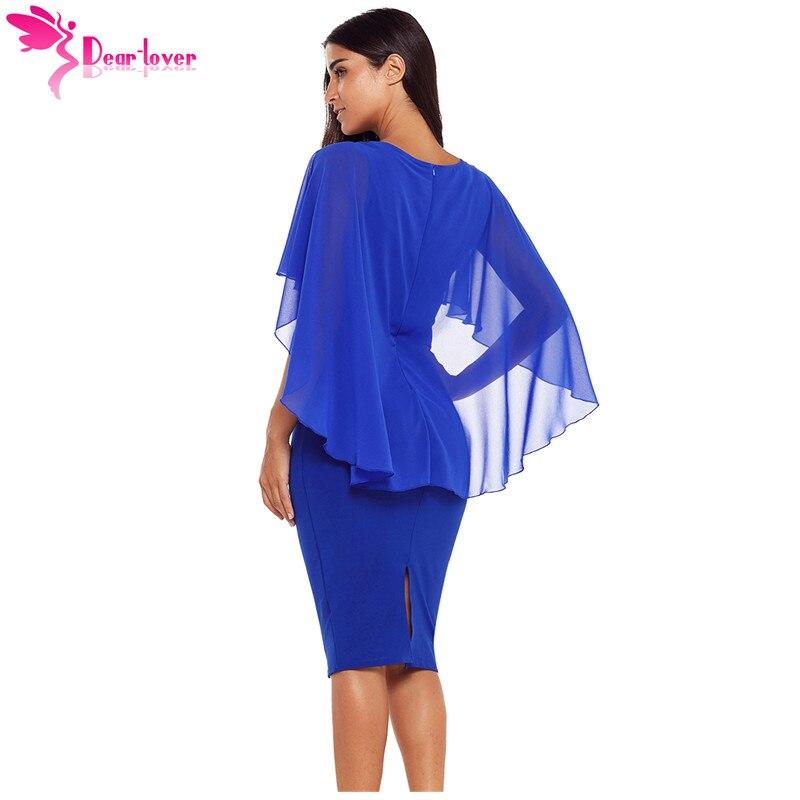 Dear Lover Women Office Dresses 2018 Autumn Blue Waist Pleats Rhinestone  Detail Slim Casual Midi Sheath Dress Vestidos LC610293-in Dresses from  Women s ... 3f6bbe06c10f