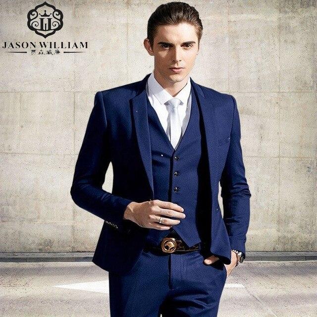 LN067 New Men Suits One Buckle Brand Suits Jacket Formal Dress Men ...