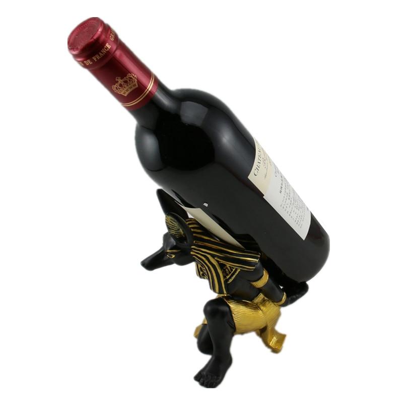 Anubis God Wine Rack (6)