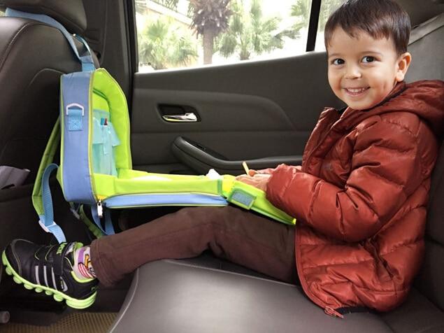 Kids Car Seat Draw Tray Baby Seat Drawing Bag Portable