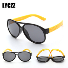 LYCZZ Brand Childs Cool Pilot Sunglasses Fashion Trendy TR90