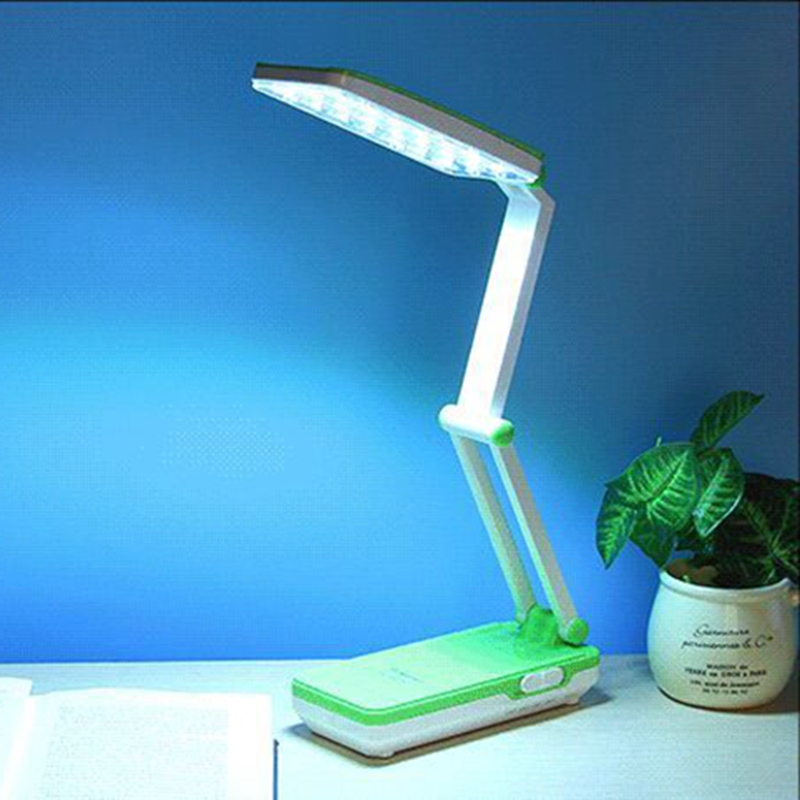 Jager Study Eyefold Fold Rotate 360 Degrees Bedroom Bright Led Rechargeable Lamps Students To