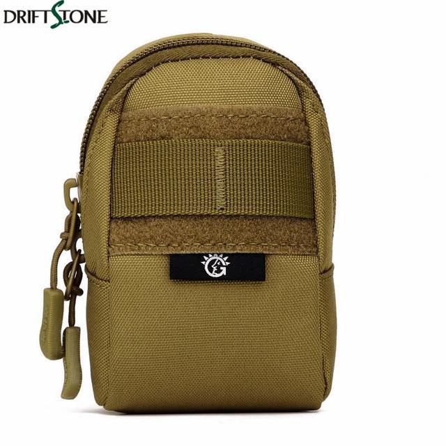 Sac militaire tactique Molle pour hommes, pochette en Nylon résistant à lusure, accessoires de voyage pour téléphone portable, sac de sport, sac de taille