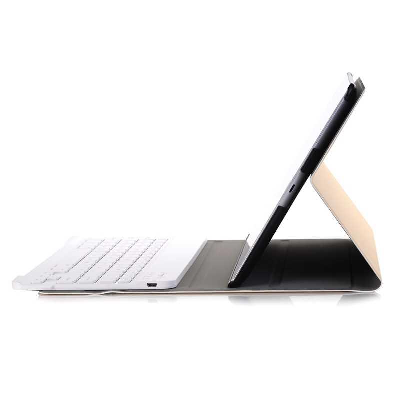 لوحة المفاتيح حافظة لجهاز ipad 2/3/4,360 درجة تناوب حالة مع انفصال سماعة لاسلكية تعمل بالبلوتوث لوحة مفاتيح لأي باد A1395/A1396/A13