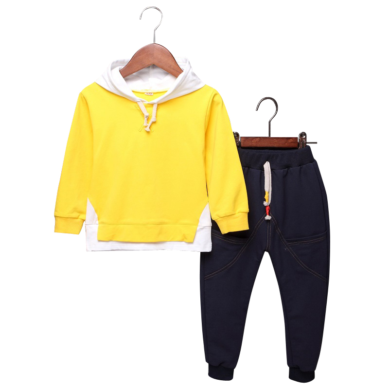 2 Piece Set Infants Baby Boys Girls Clothing Sets 2018 New Spring O-neck Coat Pants Boy Costume Cotton Cute Kids Clothes 4cs433